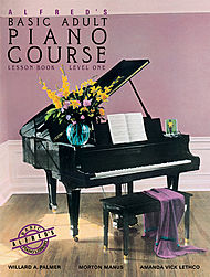 Alfred''s Basic Adult Piano Course - Lesson Book Level 1, Book And Cd