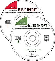 Alfred''s Essentials of Music Theory - Ear Training Books 1-3 (CDs)