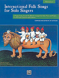 International Folk Songs For Solo Singers/book (medium Low)