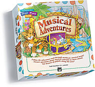 Musical Adventures Game - Board And Game Cards For Book 1 (Alfred''s Basic Group Piano Course)