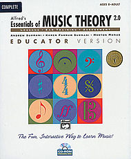 Essentials Of Music Theory Software, Version 2.0 - Cd-Rom Complete Educator Version