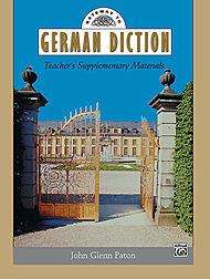 Gateway To German Diction - Teacher''s Supplementary Materials