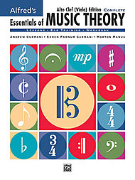 Essentials Of Music Theory - Complete Book Alto Clef (viola) Edition
