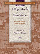 Mark Hayes Vocal Solo Collection - 10 Spirituals For Solo Voice/accompaniment Cd (medium Low)