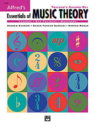 Essentials Of Music Theory - Teacher''s Answer Key Book And 2 Ear Training Cds