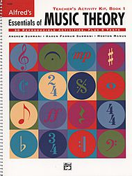 Alfred''s Essentials of Music Theory - Teacher''s Activity Kit (Book 1)