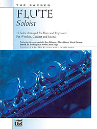 Sacred Flute Soloist,The (10 Solos Arranged For Flute & Keyboard) - Book (Reproducible Flute Solos)