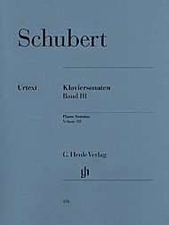 Schubert, Franz: Piano sonatas, volume III (early and unfinished sonatas (revised edition))