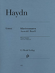 Haydn, Joseph: Selected Piano sonatas, volume I
