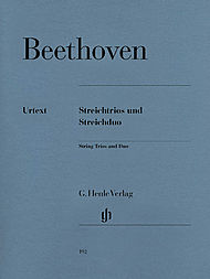 Ludwig van Beethoven: String trios and duo