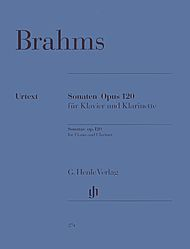 Johannes Brahms: Sonatas for Piano and Clarinet (or Viola) op. 120,1 and 2