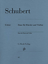 Franz Schubert: Duos for Piano and Violin