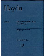 Haydn, Joseph: Piano sonata Es major Hob. XVI: 49