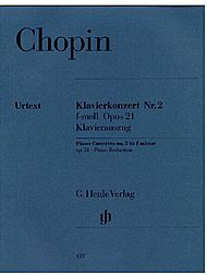 Frederic Chopin: Concerto for Piano and Orchestra no. 2 F minor op. 21