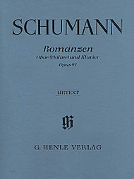 Robert Schumann: Romances for Oboe and Piano, Op. 94 - Oboe (or Violin) and Piano