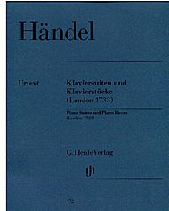 Handel, Georg Friedrich: Piano suites and pieces (London 1733)