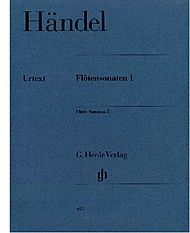 Handel, Georg Friedrich: Flute sonatas, volume I  (with Flute/Basso Continuo part (two copies))