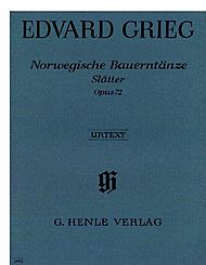 Grieg, Edvard: Norwegian Peasant Dances [Slatter] op. 72