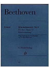 Beethoven, Ludwig van: Concerto for Piano and Orchestra no. 5 E flat major op. 73