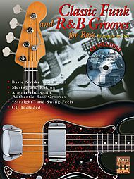 Classic Funk And R&b Grooves For Bass Cd Included