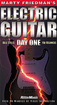 Marty Friedman''s Electric Guitar Day One