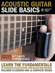 Acoustic Guitar Slide Basics - Book/CD