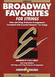 Broadway Favorites For Strings - Conductor Score/CD