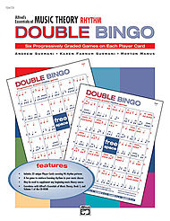 Essentials Of Music Theory - Double Bingo Game (rhythm)