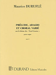 Prelude, Adagio and Choral Varie, Op. 4