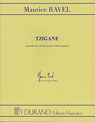 Maurice Ravel: Tzigane Concerto For Violin And Orchestra - Piano Reduction
