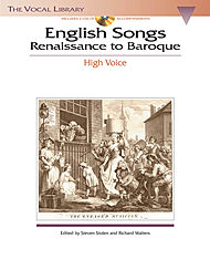 English Songs: Renaissance to Baroque - High Voice (Book/CD)