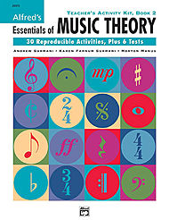 Essentials Of Music Theory - Teacher''s Activity Kit, Book 2