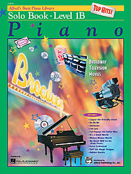 Alfred''s Basic Piano Course - Top Hits! Solo Book & Cd Level 1b