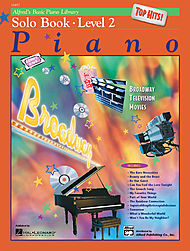 Alfred''s Basic Piano Course - Top Hits! Solo Book & Cd Level 2