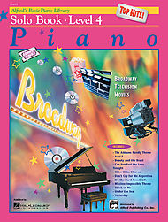 Alfred''s Basic Piano Course - Top Hits! Solo Book & Cd Level 4