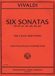 Six Sonatas, RV 47, 41, 43, 45, 40, 46 (DALLAPICCOLA-ROSE)