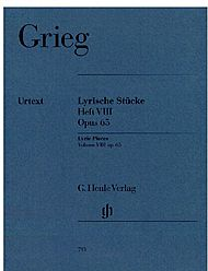 Edvard Grieg: Lyric pieces, volume VIII