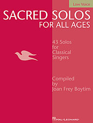 Sacred Solos for All Ages - Low Voice