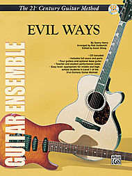 21st Century Guitar Ensemble Evil Ways, With Cd