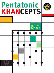 Steve Khan Pentatonic Khancepts Cd Included