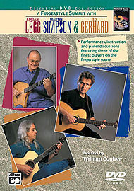 A Fingerstyle Summit With Adrian Legg, Martin Simpson & Ed Gerhard (Dvd)