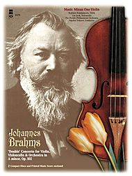 BRAHMS Double Concerto for Violin & Violoncello in A minor, op. 102 (3CD set)