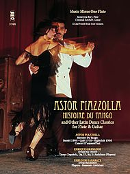PIAZZOLLA Histoire du Tango and other Latin Classics for Flute & Guitar Duet