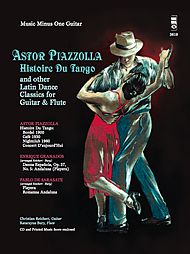PIAZZOLLA Histoire du Tango and other Latin Classics for Guitar & Flute Duet