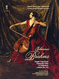 BRAHMS Double Concerto for Violoncello & Violin in A minor, op. 102 (3CD set)