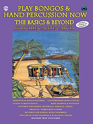 Play Bongos & Hand Percussion Now The Basics And Beyond Cd Included