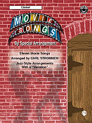 Movie Songs By Special Arrangement Clarinet Book And Cd