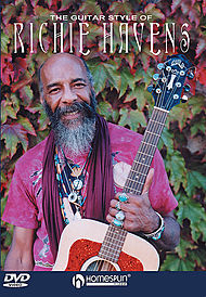 The Guitar Style of Richie Havens - DVD