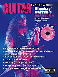 Dimebag Darrell: Guitar World Presents - Dimebag Darrell''s Riffer Madness (CD Included)