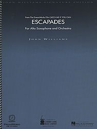 John Williams: Escapades (for Alto Saxophone and Orchestra) - Deluxe Score